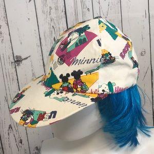 Vintage Walt Disney Mickey snap back hat